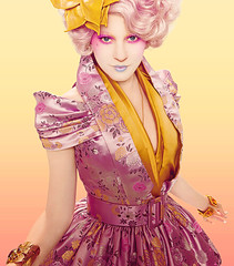 Effie from the Hunger Games (catille) Tags: cosplay games hunger ideas effie trinket metrocon