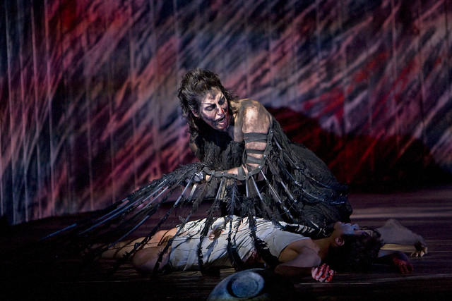 "Amanda Echalaz as Ker in Stephen Langridge's The Minotaur.  The Royal Opera season 2007/2008. <a href=""http://www.roh.org.uk"" rel=""nofollow"">www.roh.org.uk</a> Photo by Bill Cooper"