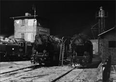 Wernigaroda at night (RhinopeteT) Tags: steam east german gauge narrow mpd wernigaroda