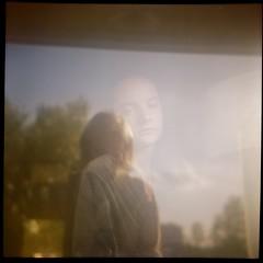 Young ghost (VLBPhotography) Tags: paris france mediumformat 66 120film domestic tests kodakportra400 frreslumire squarephotography lumirecamera frencholdcameras lumireflex spector80mmf45