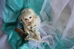 Pullip Paja - Gabrielle 10 (Megoulette_) Tags: blue white angel gabrielle groove pearl pullip paja archangel leeke obitsu junplanning