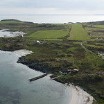 Final approach to Gigha - east to west this time