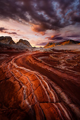 Fire in the Valley ~ Page~ Arizona ~ White Pocket (Dan Ballard Photography) Tags: