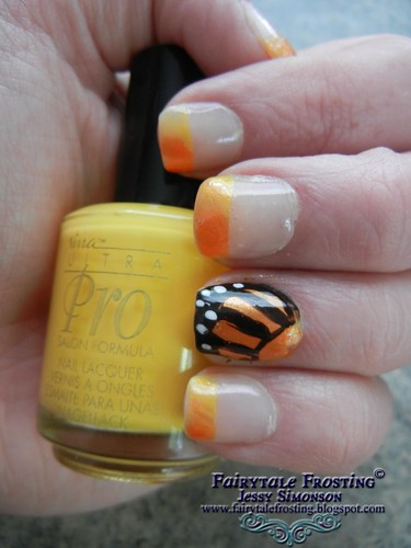 Butterfly Wing Nail Art