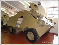 Landsverk Unimog Scout Car (Alan B Thompson) Tags: military norfolk picasa olympus eastanglia 2012 sp590uz
