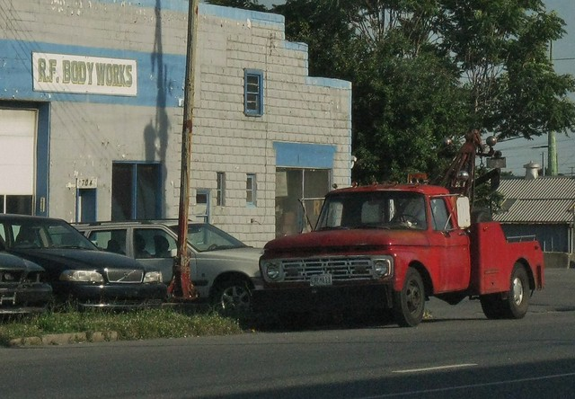 ford truck tow 1964 f350 1ton