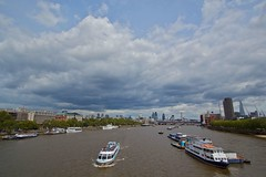Waterloo Cloudset (ianwyliephoto) Tags: thames clouds flamingjune waterloobridge
