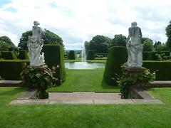 Renishaw Hall Derbyshire (woodytyke) Tags: uk family england english history home fountain statue stone garden joseph photography hall photo george cafe topiary foto t