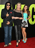 Gene Simmons, Shannon Tweed, Sophie Simmons The premiere of 'Savages' at Westwood Village - Arrivals Los Angeles, California