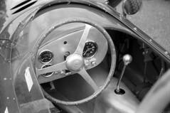 VSCC Car Cockpit (Julian Dyer) Tags: cars vintage racing motorsport vscc mallorypark ilfordfp4 ilfordfp4plus filmphotography vintageracing ilfordddx
