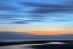 Meandering (binliner) Tags: sunset seascape motion blur beach flickr web norfolk impression icm 2012 hunstanton i010 i013 commended landscapephotographeroftheyear lpoty fpsm
