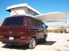 Redrock_Camper_with _PopTop_and _Awning