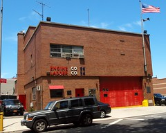 E096 FDNY Firehouse Engine 96 & Ladder 54, Clason Point, Bronx, New York City (jag9889) Tags: county city nyc house ny newyork building station architecture truck fire bronx engine company foam borough ladder firehouse 54 fdny department firefighters 82 2012 96 bravest ladder54 clasonpoint storyavenue engine96 e096 jag9889 y2012