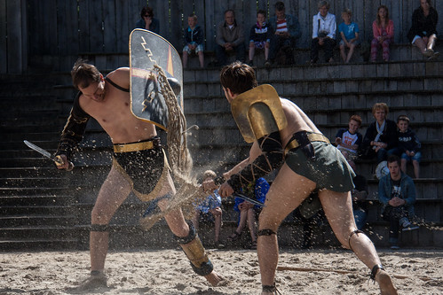 gladiator fight, From FlickrPhotos