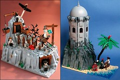 LEGO HISTORICAL PERIODS- new CUUSOO project! (Fianat) Tags: usa history america lego russia pirates pirate western cuusoo