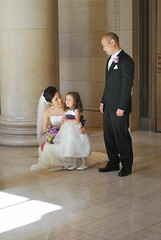 Lindsey, Makenna, and Danny (rocketlass) Tags: sanfrancisco danny lindsey flowergirl makenna bentlyreserve lindseydannysweddingweekend