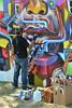Urban muralist at work. Smithsonia…
