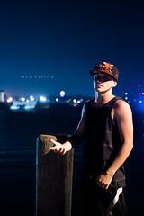 Tjay (Brandon Tavares) Tags: male water night 35mm pose prime nikon bokeh vision infinite nikonian d3100 nikkorofficial