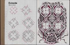 patterns tangle zentangle daycraftmytravelalbum