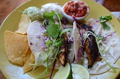 Cajun Fish Tacos (csztova) Tags: hawaii restaurant waikiki dukes fishtacos sigma1770mm nikond7000