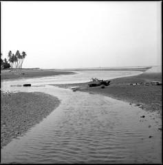 * (-nasruddinmukhtar-) Tags: blackandwhite bw 120 6x6 beach monochrome analog mediumformat square landscape seaside hasselblad malaysia 500c mf analogue carlzeiss   selfdevelopment r09 melawi planart80mmf28 nasruddin fujifilmneopanacross100 nasruddinmukhtar