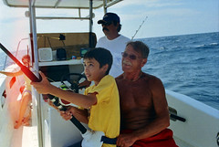 Cabo San Lucas 2005 (Hoffenbrau Studios) Tags: fish film fishing kodak lightleak baja canonae1 marlin seaofcortez redsnapper sportfishing cabosanlucasmexico gold400asa believeinfilm refrieddreams