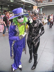 IMG_7525 (the_gonz) Tags: sexy green london comics dc cool purple geek cosplay convention batman olympia joker dccomics gotham facepaint fancydress con gothamcity londonfilmandcomiccon thejoker olypmia lfcc