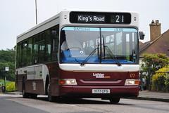 177 (Callum Colville's Lothian Buses) Tags: bus buses edinburgh tags dennis dart lothian plaxton edinburghbus y177cfs