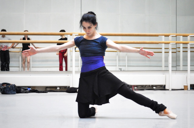 "Tamara Rojo in rehearsals for Metamorphosis: Titian 2012. <a href=""http://www.roh.org.uk"" rel=""nofollow"">www.roh.org.uk</a>"