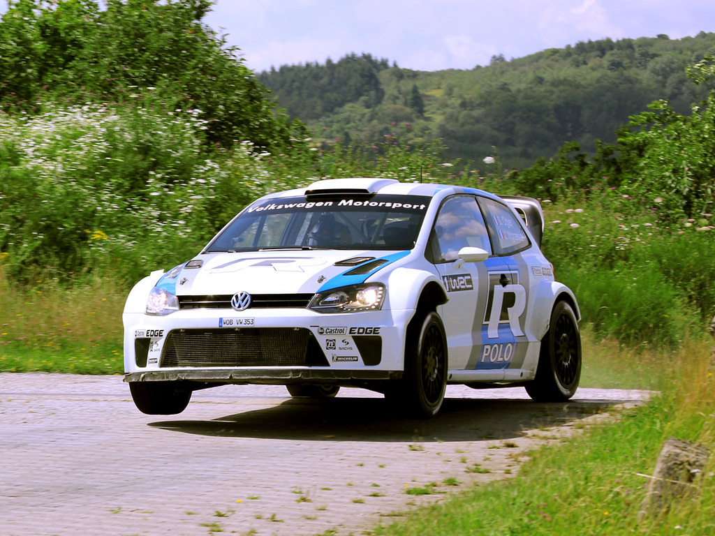 VW Polo R WRC by kahess, on Flickr