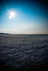 Insane Sun (Insane Focus) Tags: blue sky sun snow art nature sunshine photoshop landscape photography photo insane nikon focus photographer belgium belgique image artistic wind pics withe snapshot picture snap amateur campagne vignette lige lightroom eolienne d80 villerslebouillet insanefocus photographicshot