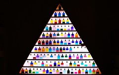 Chromotherapy (hannahparvaz) Tags: light shadow abstract colour art contrast triangle colours shadows bottles highlights hightlight chromotherapy