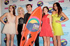 Troian Bellisario, Ashley Benson, Ian Harding, Lucy Hale and Shay Mitchell The 2012 Teen Choice Awards held at the Gibson Amphitheatre - Press Room Universal City, California