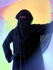 My shayla (beautyveil) Tags: veil niqab abaya shayla