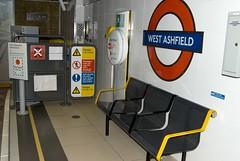 West Ashfield Platform End (RyanTaylor1986) Tags: station training tube platform fake mockup londonunderground facility mock pretend westkensington nopassengers ashfieldhouse westashfield