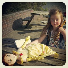 Down On The Prom (Radarsmum67) Tags: summer childhood square erin dingle bank sunny squareformat belle mersey earlybird iphoneography instagramapp uploaded:by=instagram