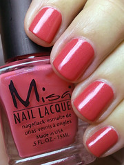 bop til you drop, misa (nails@mands) Tags: coral nail nagellack melancia nails nailpolish unhas misa lacquer vernis esmalte smalto naillacquer verniz boptilyoudrop