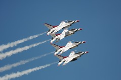 USAF Thunderbirds (chad.latta) Tags: show plane force air united jet performance formation airshow thunderbirds usaf thunderbird stated