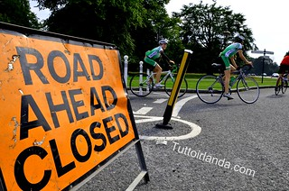 Phoenix Park road closure Chesterfield Avenue
