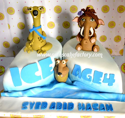 Ice Age 4 - Continental Drift Cake