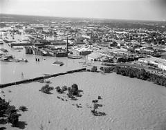 Richmond After the Flood (The Library of Virginia) Tags: usa virginia flooding flood richmond va hurricaneagnes naturaldisasterrichmondvausa