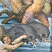 Raphael, Galatea, detail with dolphin