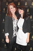 sarah Faulkner and Nicole Ellis pictured at the opening of Wilde Bar Club and Venue in Wicklow Street,Dublin..Pic Brian McEvoy