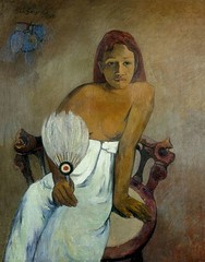 Gauguin - Abanico
