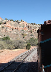 Verde Canyon Railroad (twm1340) Tags: county railroad arizona verde electric train diesel scenic az canyon caboose locomotive 2012 fp7 clarkdale perkinsville yavapai emd