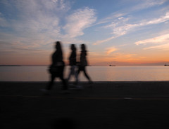 shadows (tolisk9) Tags: sunset shadows walk thessaloniki
