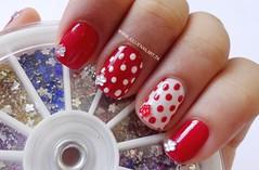 Unhas de Bolinha (Vermelho e Branco) (Jullie Nail Art) Tags: red white dots nailart poá cutenailart unhaartistica unhadecorada decoraçãodeunha unhadebolinha nailartdot