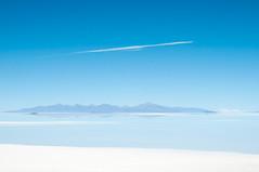 Salar d'Uyuni (zumaqueromf) Tags: voyage travel blue sky cloud white water montagne eau bleu ciel nuage blanc salar désert uyuni bolivie amérique salarduyuni