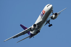 FedEx Boeing 767-3S2F/ER N102FE (Flightline Aviation Media) Tags: airplane airport jan aircraft aviation jet cargo jackson boeing fedex 767 freighter stockphoto 767300 canon50d kjan bruceleibowitz n102fe 7673s2f