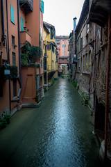 Bologna or Venice? (silwolf) Tags: street city travel sky urban italy tourism church water river photography canal casa nikon strada italia chiesa cielo bologna reno lucio canale citt dalla d7100